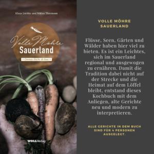 Volle Möhre Sauerland das Buch über regionale sauerländische Küche